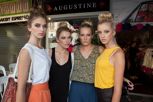 ponsonby, new zealand, auckland, neuseeland, florentine, fashion show, model